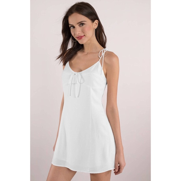 Tobi Dresses & Skirts - 🆕 GLOW UP WHITE DRESS
